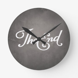 End Title Round Clock