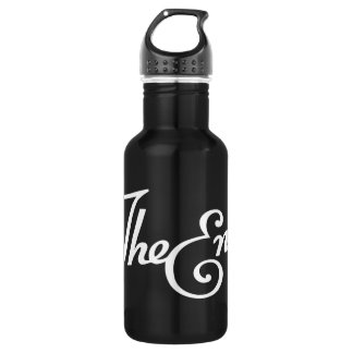 End Title Stainless Steel Water Bottle