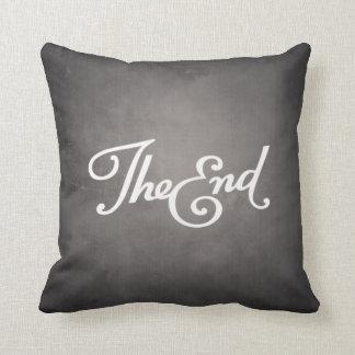 End Title Throw Pillow