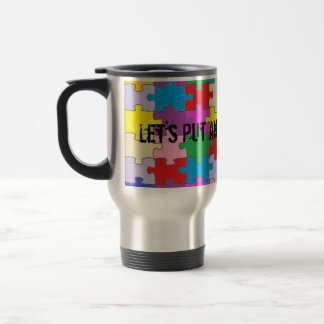 End To Autism Stainless Travel Mug