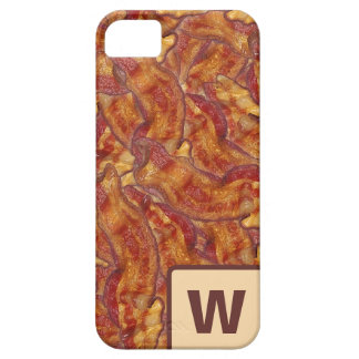 End-to-End Bacon (with letter) iPhone Case