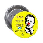 End Tory Rule David Cameron Button Badge