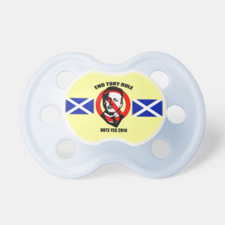 End Tory Rule Scottish Independence Pacifier BooginHead Pacifier