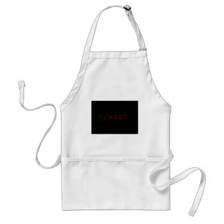 End War (in HTML) Adult Apron