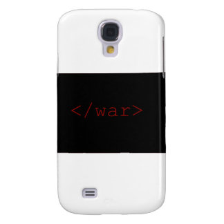 End War (in HTML) Galaxy S4 Cases