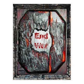 End War Postcard