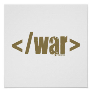 End War Posters