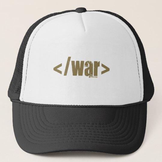 End War Trucker Hat