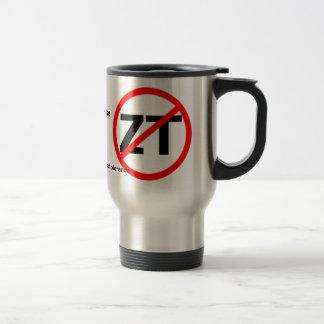 End Zero Tolerance Travel Mug