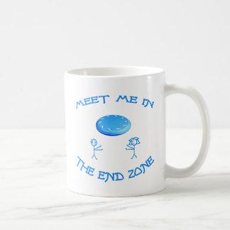 End Zone Frisbee Coffee Mug