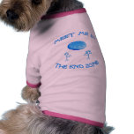 End Zone Frisbee Doggie T Shirt