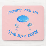 End Zone Frisbee Mousepads