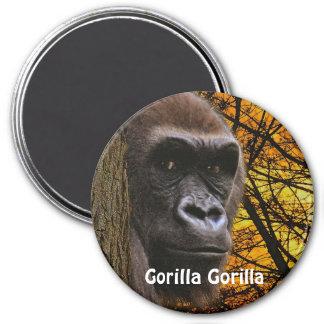 Endangered African Gorilla Great Ape Art Magnet