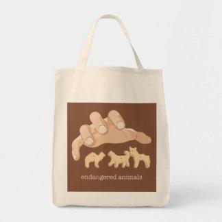 Endangered Animals Tote Bag