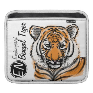 Endangered | Bengal Tiger | iPad Sleeve