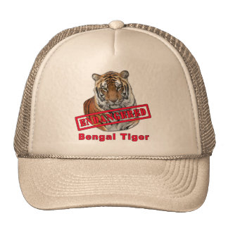 Endangered Bengal Tiger  Products Trucker Hat