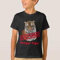 Endangered Bengal Tiger  Products T-Shirt