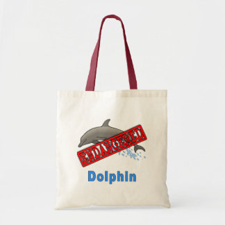 Endangered Dolphin Products Tote Bag