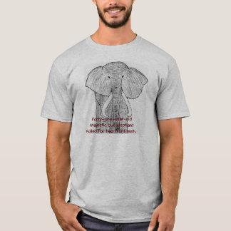 Endangered Elephant Alert T-Shirt