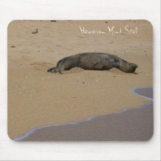 Endangered Hawaiian Monk Seal Kauai Mouse Pad