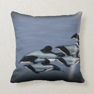 Endangered Hector Dolphin Pillow