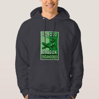 Endangered Komodo Dragon Pop Art Tshirts