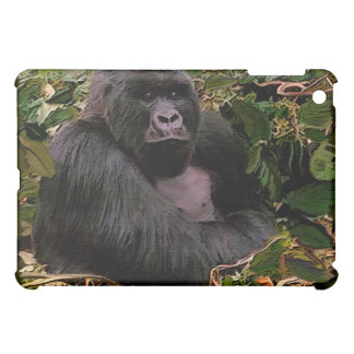 Endangered Mountain Gorilla Great Ape iPad Cover