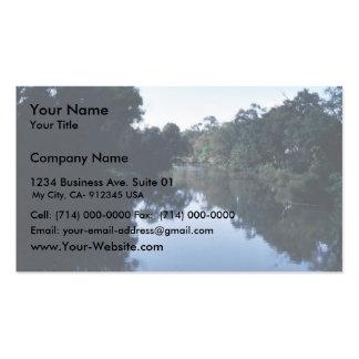 Endangered mussel habitat business card