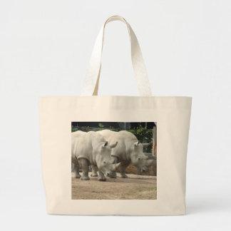Endangered Northern White Rhinos Bag