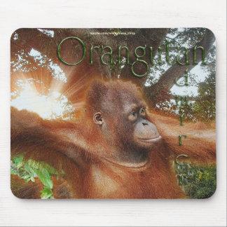 Endangered Orangutans Wildlife-supporter Mousepad