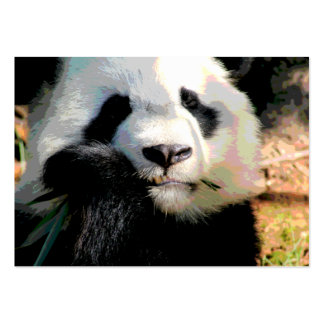 Endangered Panda Bear Business Card