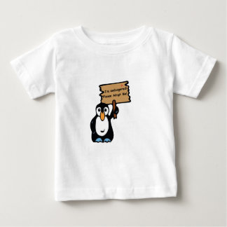 Endangered Penguin Asks for Adoption Baby T-Shirt