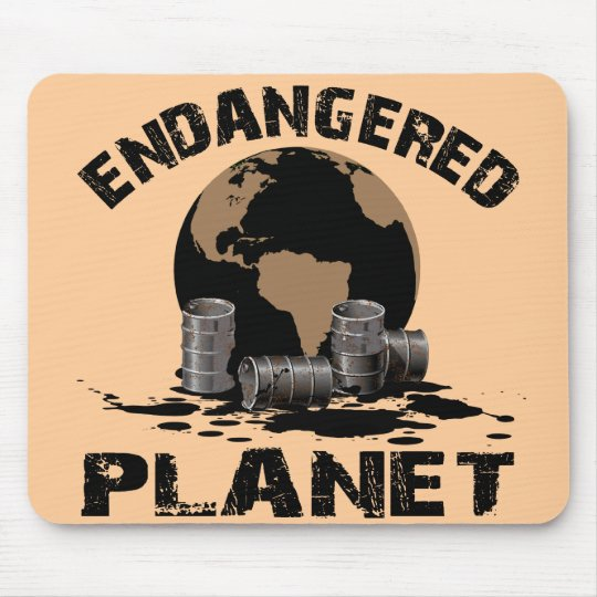 ENDANGERED PLANET MOUSE PAD