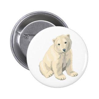 Endangered Polar Bear Buttons