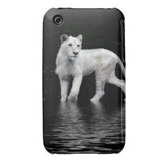 Endangered Rare White Lion Wild Animal Lion-lover iPhone 3 Covers