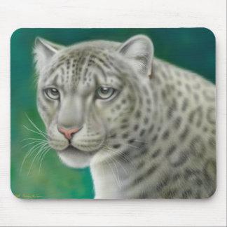 Endangered Snow Leopard Mousepad