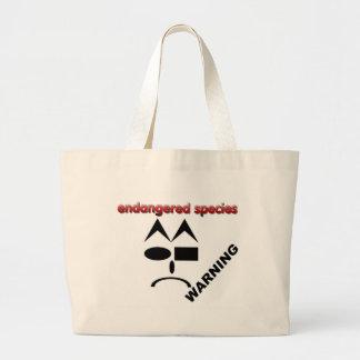 Endangered Species - Warning Bag