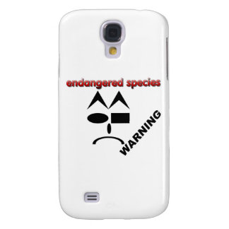 Endangered Species - Warning Galaxy S4 Cover