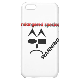 Endangered Species - Warning iPhone 5C Covers