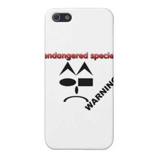 Endangered Species - Warning iPhone 5 Cover