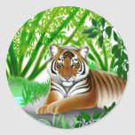 Endangered Sumatran Tiger Sticker