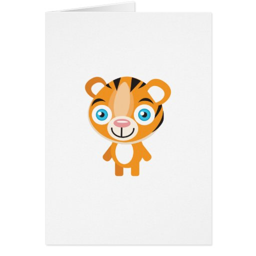 Endangered Tiger - My Conservation Park Greeting Card