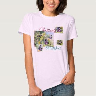 Endangered Tropical Butterflies Fine Art Shirt