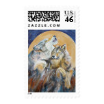 Endangered Wolf Inspirational Stamps Howling Wolf