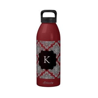 Endearing Damask Water Bottles