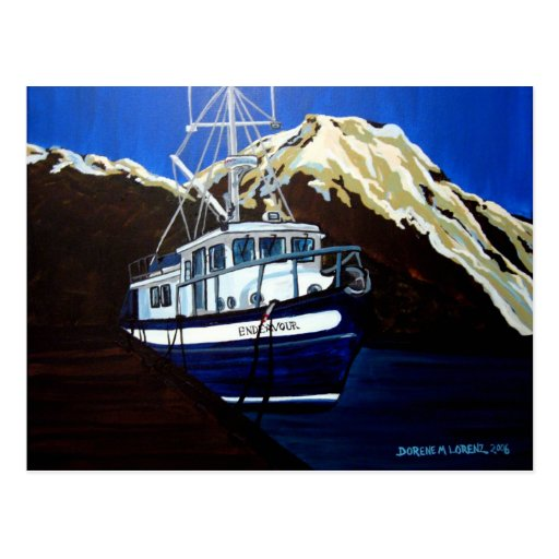 endeavor postcard