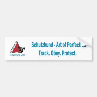 Endeavor Schutzhund Club Logo Bumper Sticker