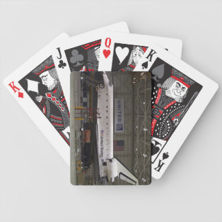 endeavor space shuttle bicycle playing cards