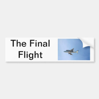 Endeavors Final Flight Bumper Sticker