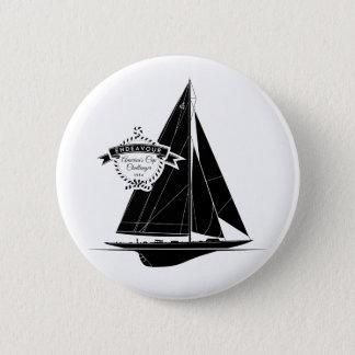 Endeavour Black Pinback Button